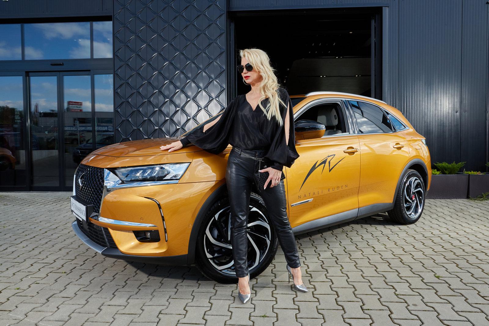 Značka DS je partnerem módní návrhářky Natali RUDEN - anotační obrázek