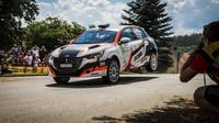Závodní premiéra Peugeotu 208 Rally 4 zajistila příbramské stříbro - anotační obrázek