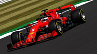 Sebastian Vettel v Silverstone