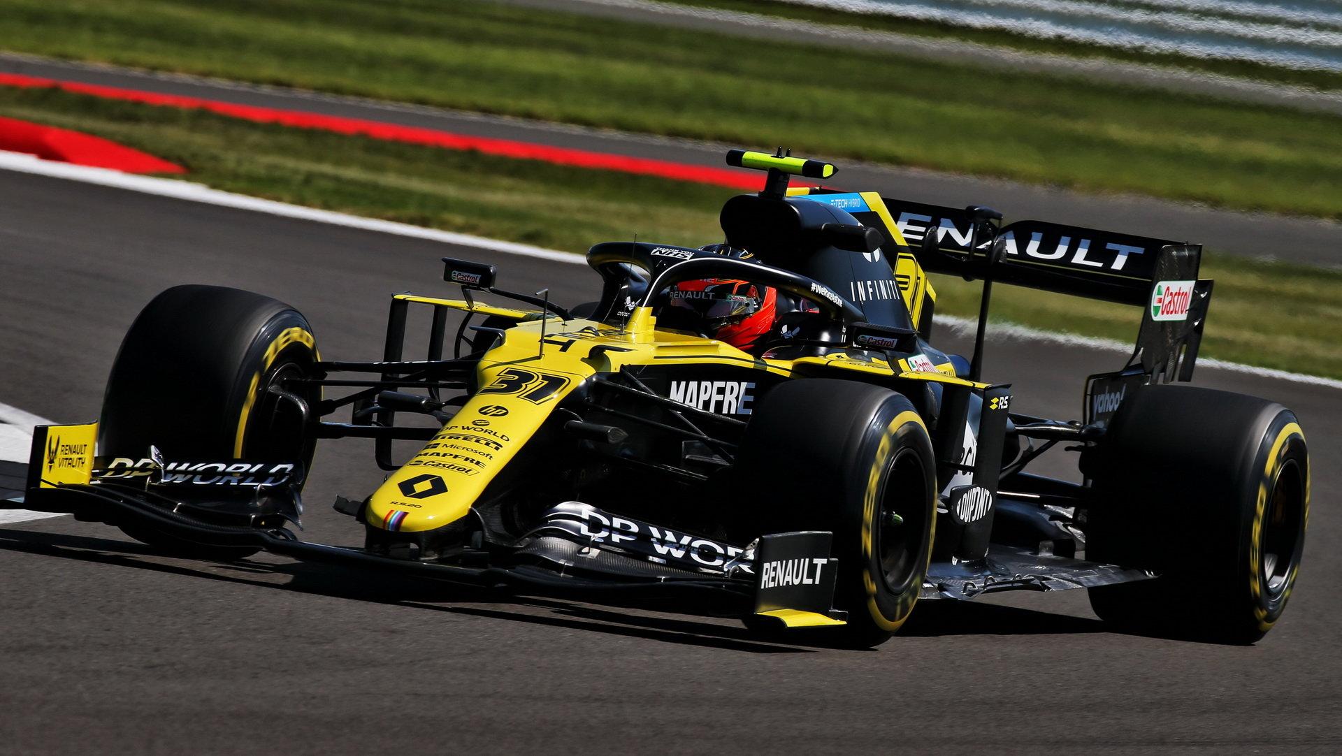 Renault má letos konkurenceschopný vůz, s nímž může bojovat mezi konstruktéry o bronz