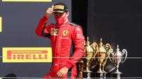 Charles Leclerc si připsal třetí místo po závodě v Silverstone