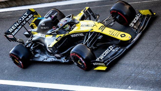 Daniel Ricciardo korunoval skvělý výsledek ve Spa bodem navíc