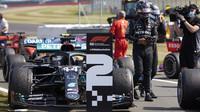 Lewis Hamilton po závodě v Silverstone