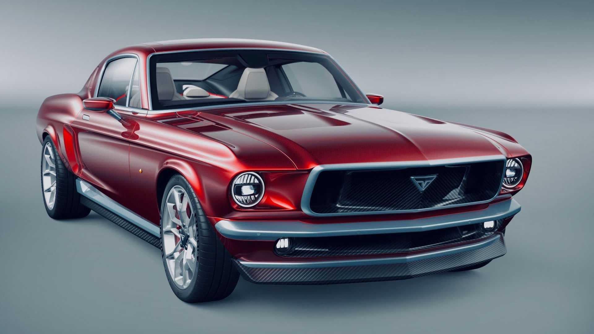 Aviar Motors R67, kříženec Mustangu a Tesly, Model S umí stovku za 2,2 s! - anotační obrázek