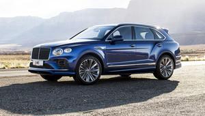 Modernizované Bentley Bentayga Speed si udrželo titul nejrychlejšího crossoveru na světě - anotační obrázek
