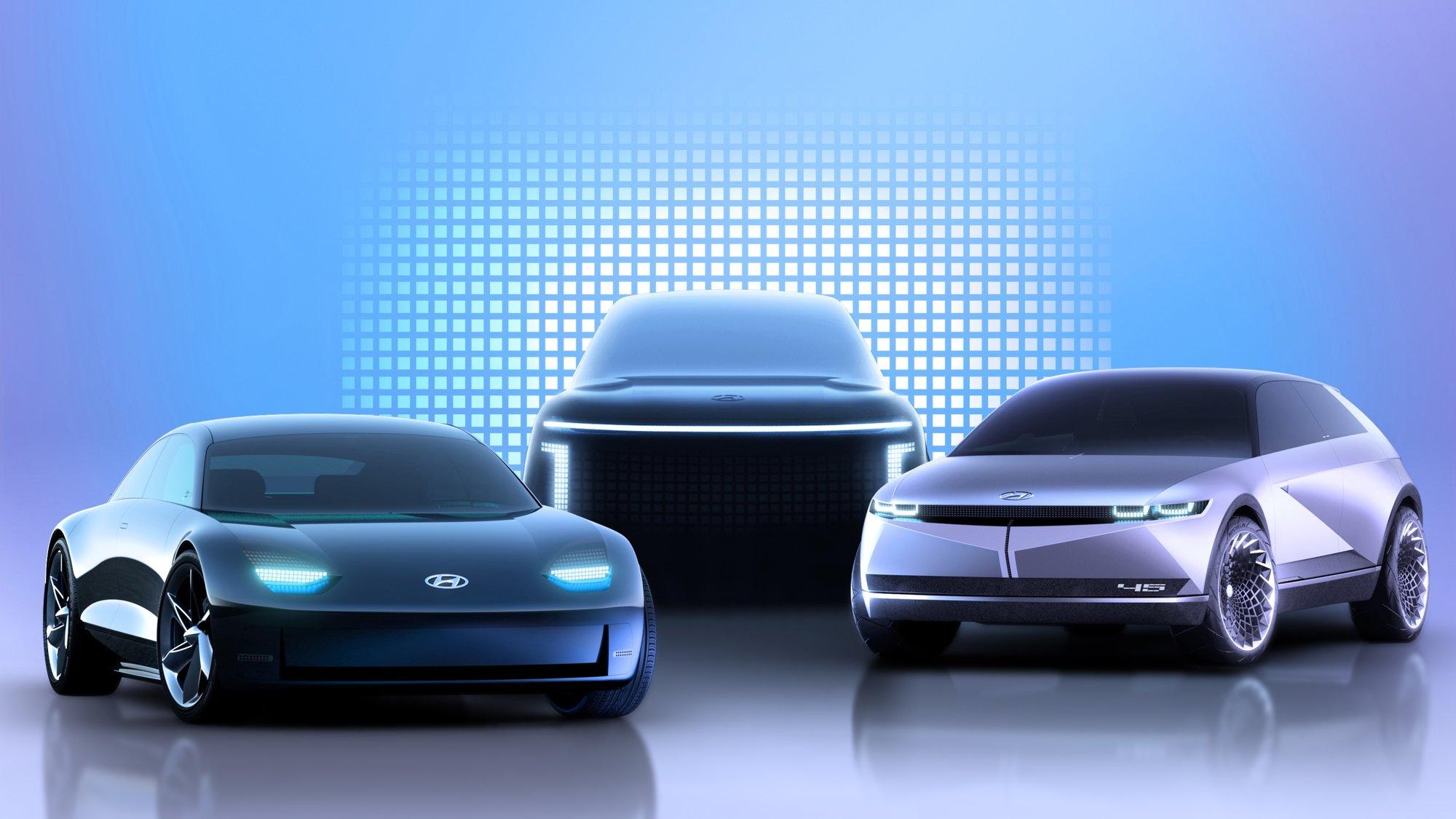 Hyundai Motor představuje IONIQ jako značku elektromobilů - anotační obrázek