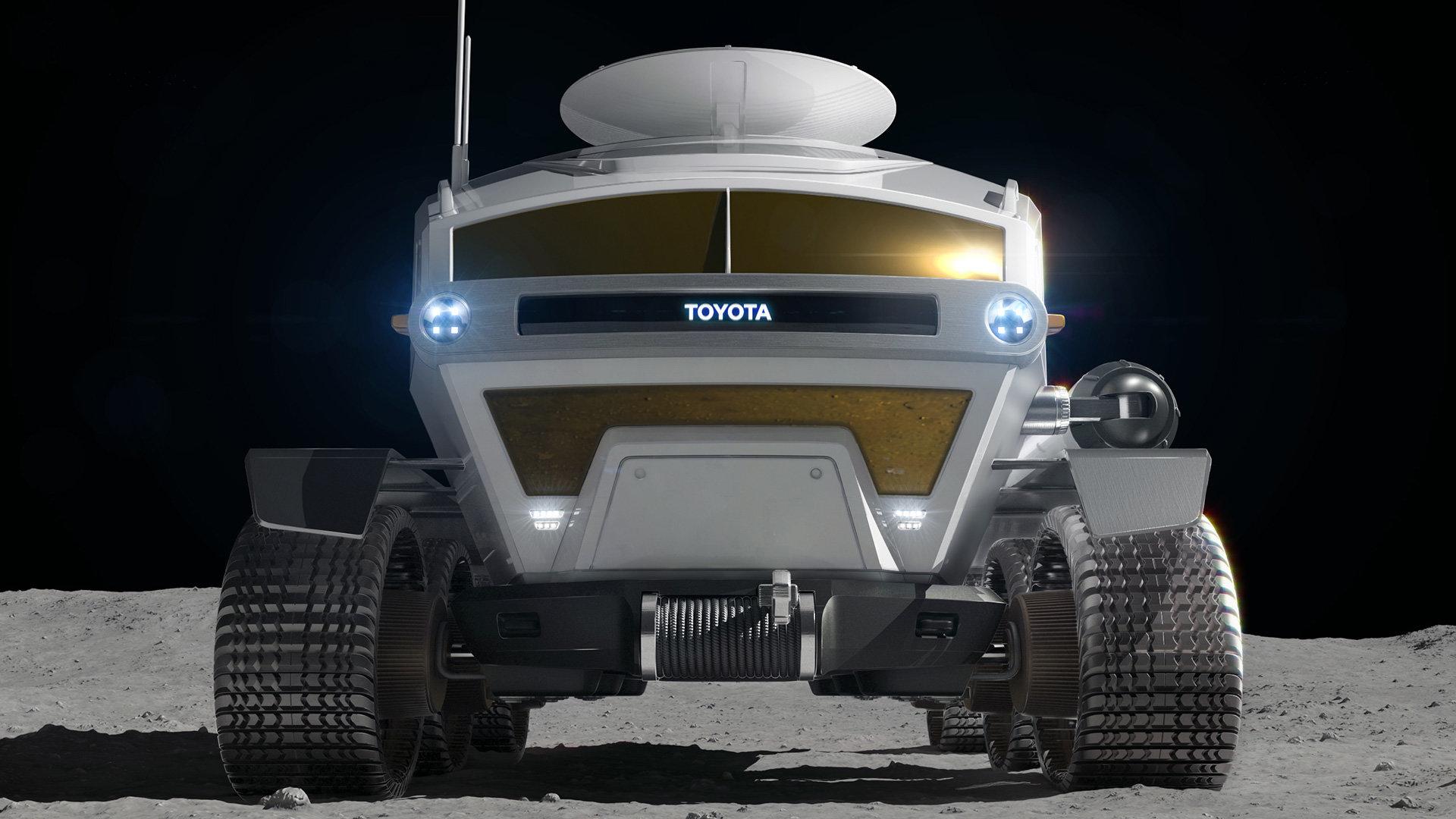 Připravované měsíční vozidlo dostalo jméno po ikoně offroadu Land Cruiser