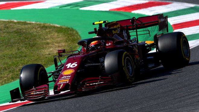 Charles Leclerc po 4 závodech konečně zabodoval