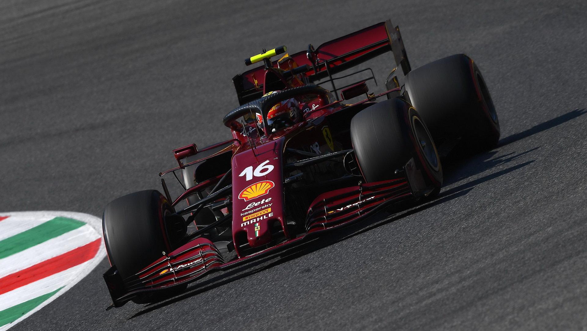Speciálně vyvedený monopost Ferrari u příležitosti oslav 1000. Grand Prix ve Formuli 1