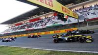 Daniel Ricciardo po restartu závodu v Toskánsku