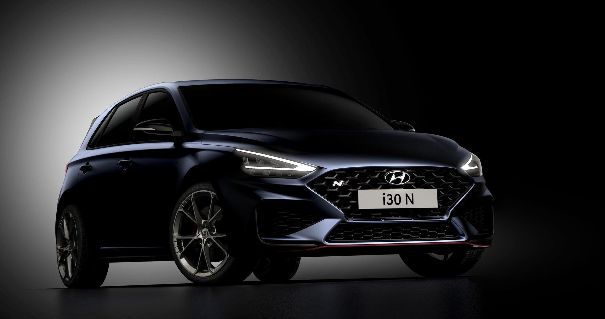 Nový Hyundai i30 N přichází s novým designem a dvojspojkovou převodovkou - anotační obrázek