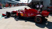Sebastian Vettel před závoděm v Soči
