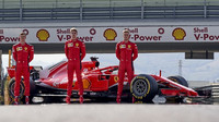 Společné foto mladých talentů Ferrari