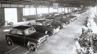 Továrna Suzuki v roce 1955