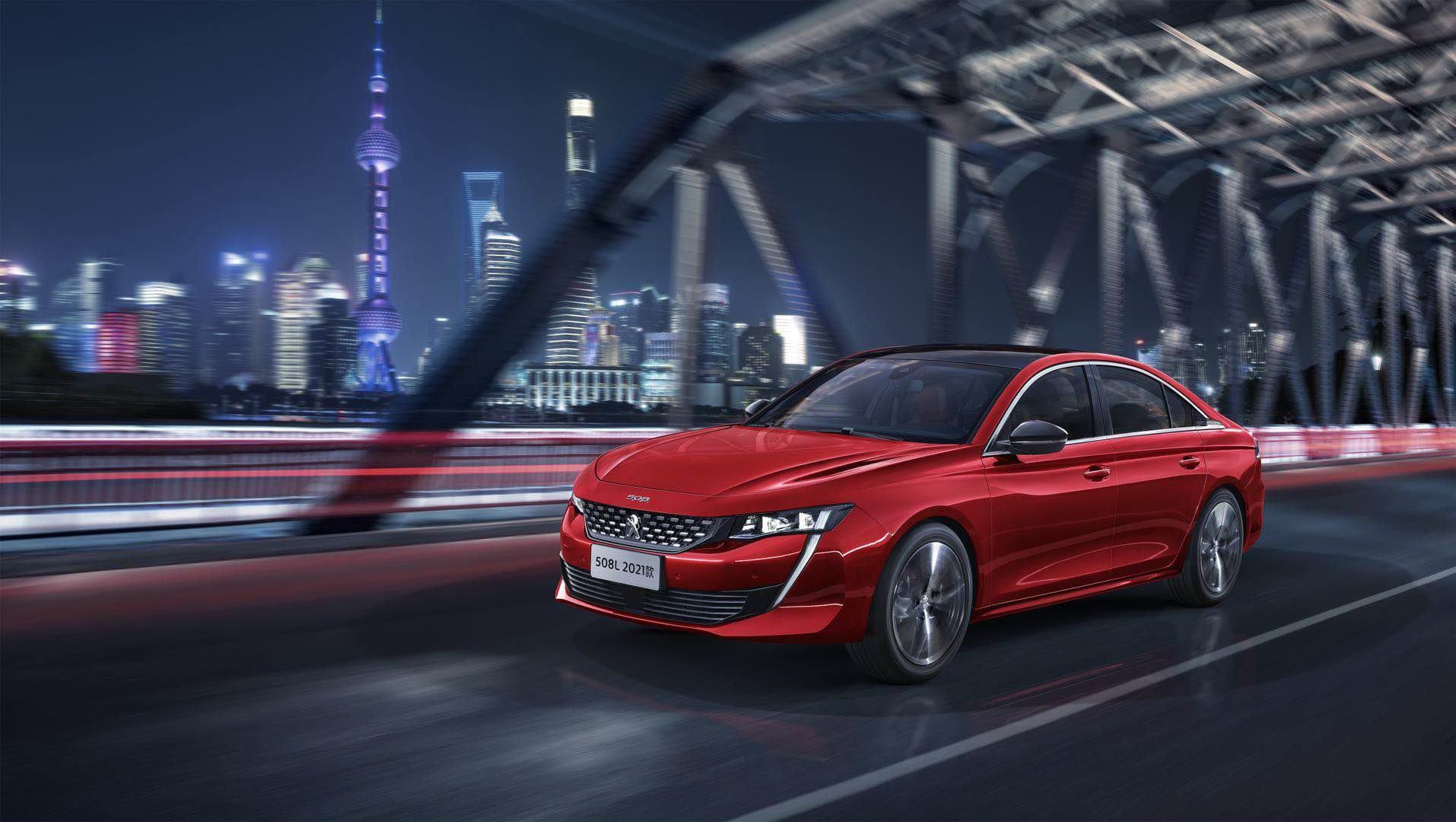 """Nový Peugeot 508 L """"2021"""" byl představen na pekingském autosalonu"""