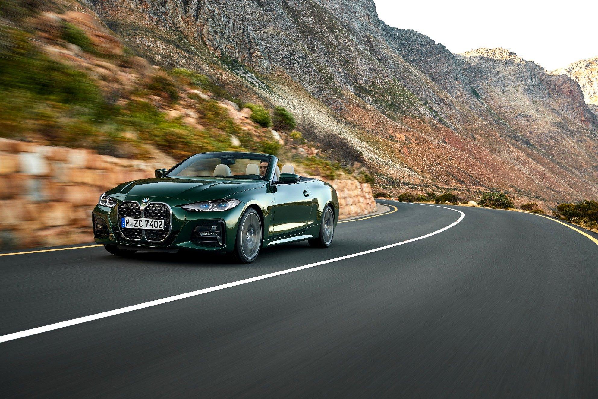 BMW 4 Cabrio začíná na českém trhu s cenou 1 319 500 Kč s motorem o výkonu 135 kW (184 k)