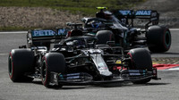 Lewis Hamilton v kvalifikaci na Nürburgringu