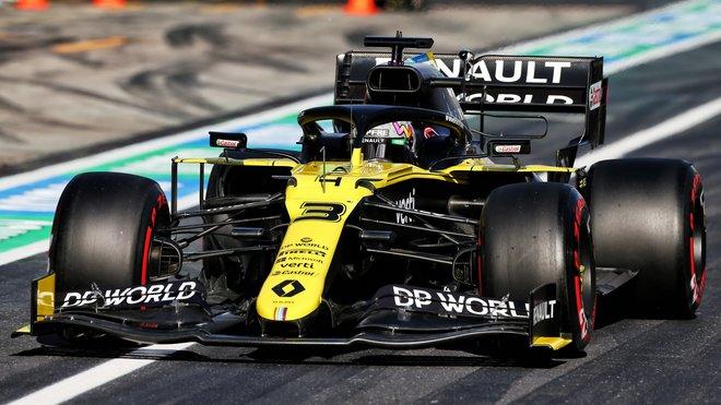 Daniel Ricciardo se dočkal kýžených stupňů vítězů