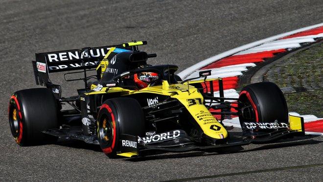 Esteban Ocon v kvalifikaci na Nürburgringu