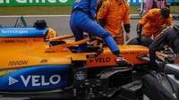 Carlos Sainz před startem závodu na Nürburgringu