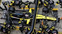 Daniel Ricciardo počas závodu na Nürburgringu