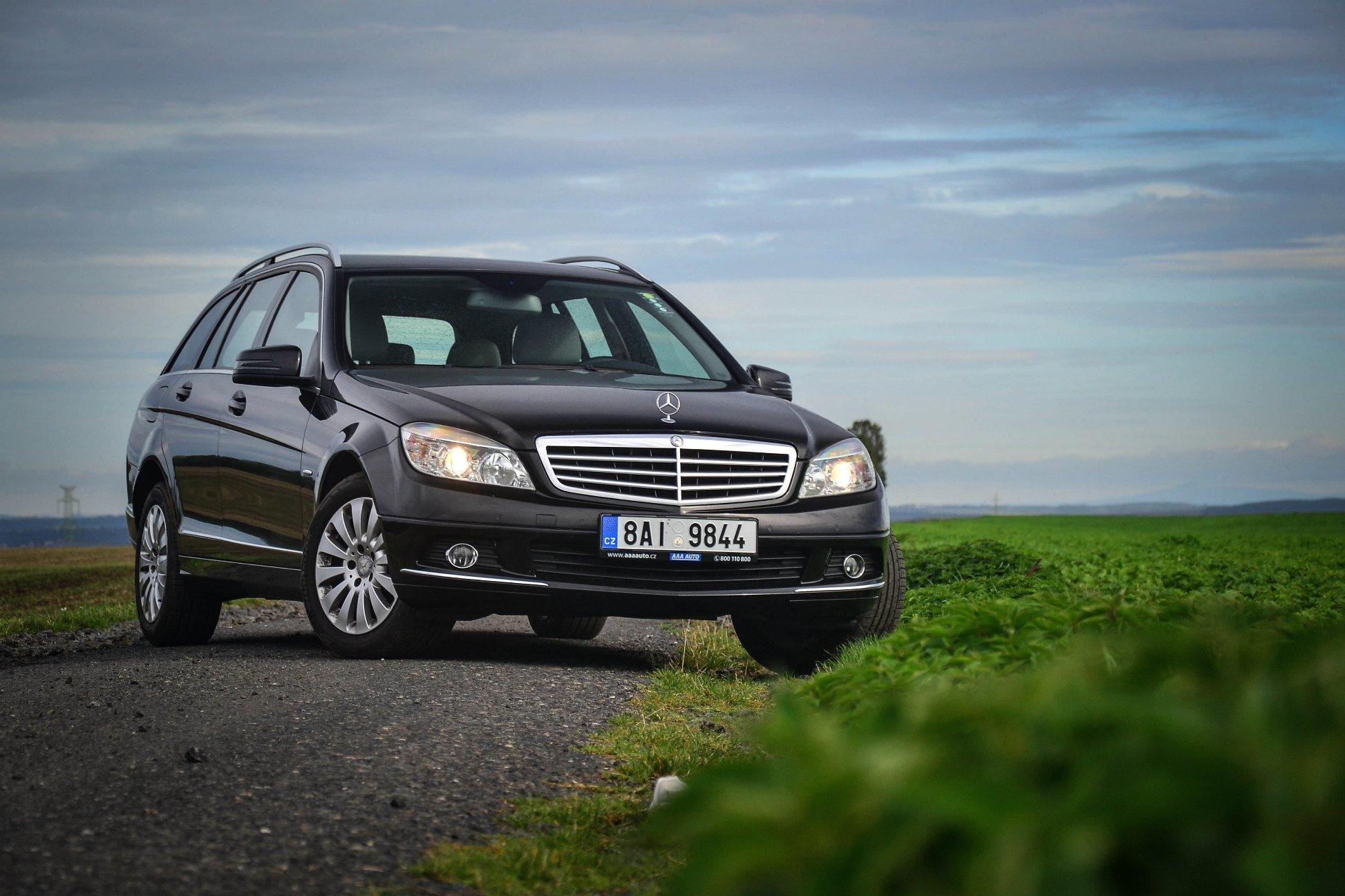 TEST: Mercedes Benz C 200 kompressor W204 - praktický elegán pro každý den za příznivou cenu - anotační obrázek