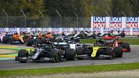 GRAFIKA: Startovní rošt v Imole - Pérez v 1. řadě s Hamiltonem, Honda penalizována - anotační obrázek