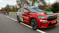 Škoda Enyaq iV se osvědčila jako ředitelský vůz při cyklistickém závodě La Vuelta kolem Španělska