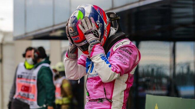 Sergio Pérez po závodě v Turecku