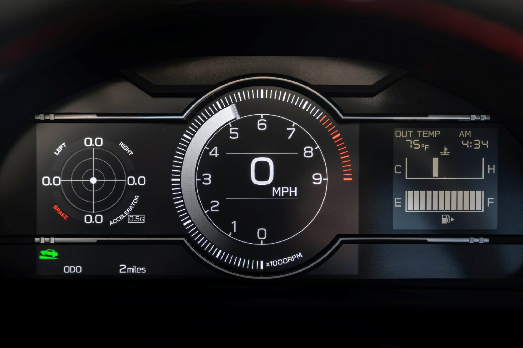 Nové Subaru BRZ doznalo řady změn v interiéru