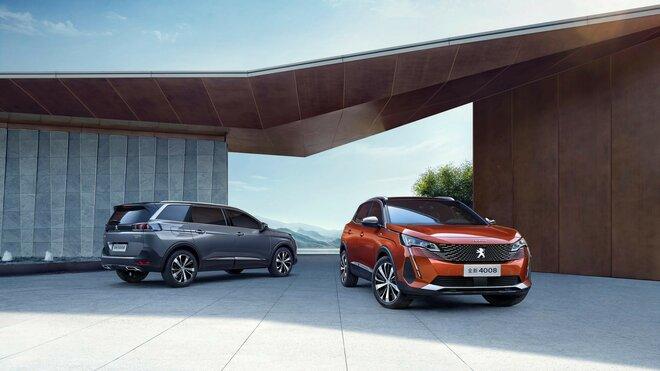 Peugeot 4008 a 5008