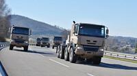 Tatra Phoenix je nabízena v civilní i vojenské verzi
