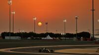 Daniel Ricciardo v závodě v Bahrajnu