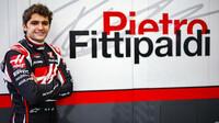 Pietro Fittipaldi při pátečním tréninku v Sáchiru