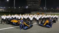Tým McLaren v Sáchiru
