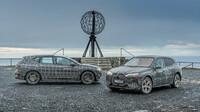 BMW dokončuje zátěžový test iX v extrémně chladných podmínkách