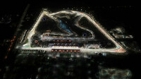 Letecký pohled na okruh v Bahrajnu