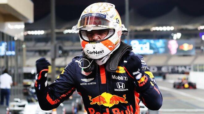 Max Verstappen po úspěšné kvalifikaci v Abú Zabí