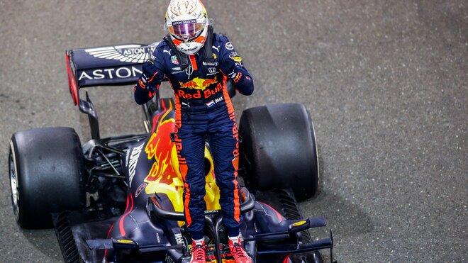 Max Verstappen po úspěšném závodě v Abú Zabí