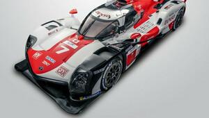Toyota GR010 Hybrid s celkovým výkonem omezeným hranicí 500 kW (680 koní) pro šampionát WEC a závod 24h Me Mans