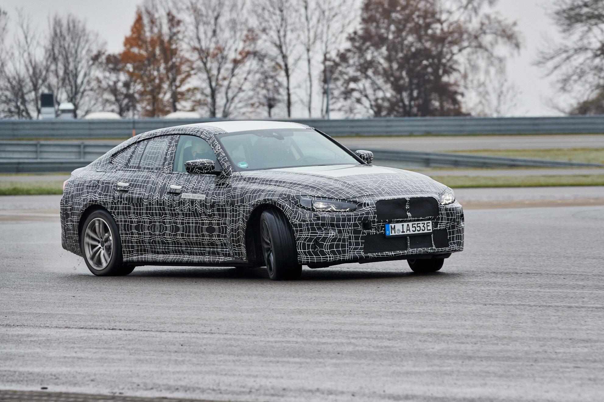 BMW i4 má obohacovat lokálně bezemisní mobilitu o čistou radost z jízdy