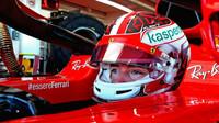 První test Leclerca s Ferrari ve Fioranu v roce 2021