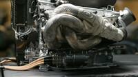 Pohonná jednotka Mercedesu F1: výfukový systém
