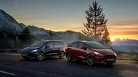 Ford S-MAX Hybrid a Ford Galaxy Hybrid dostaly samonabíjecí hybridní (HEV) variantu pohonu a ušetří nově celých 10% emisí CO2