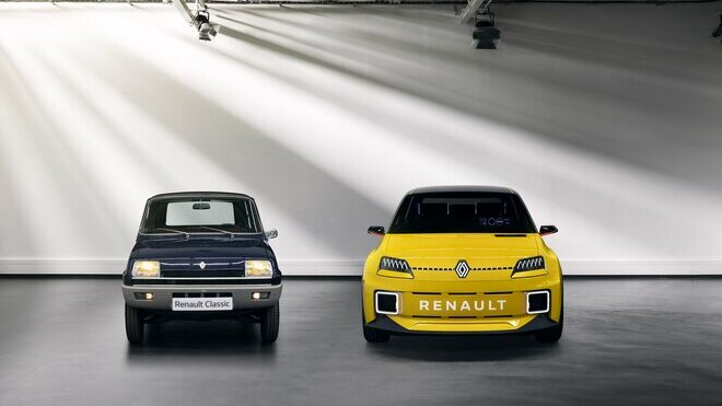 Renault 5 a prototyp nového Renaultu 5