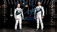Jezdci AlphaTauri pro sezónu 2021 Juki Cunoda a Pierre Gasly