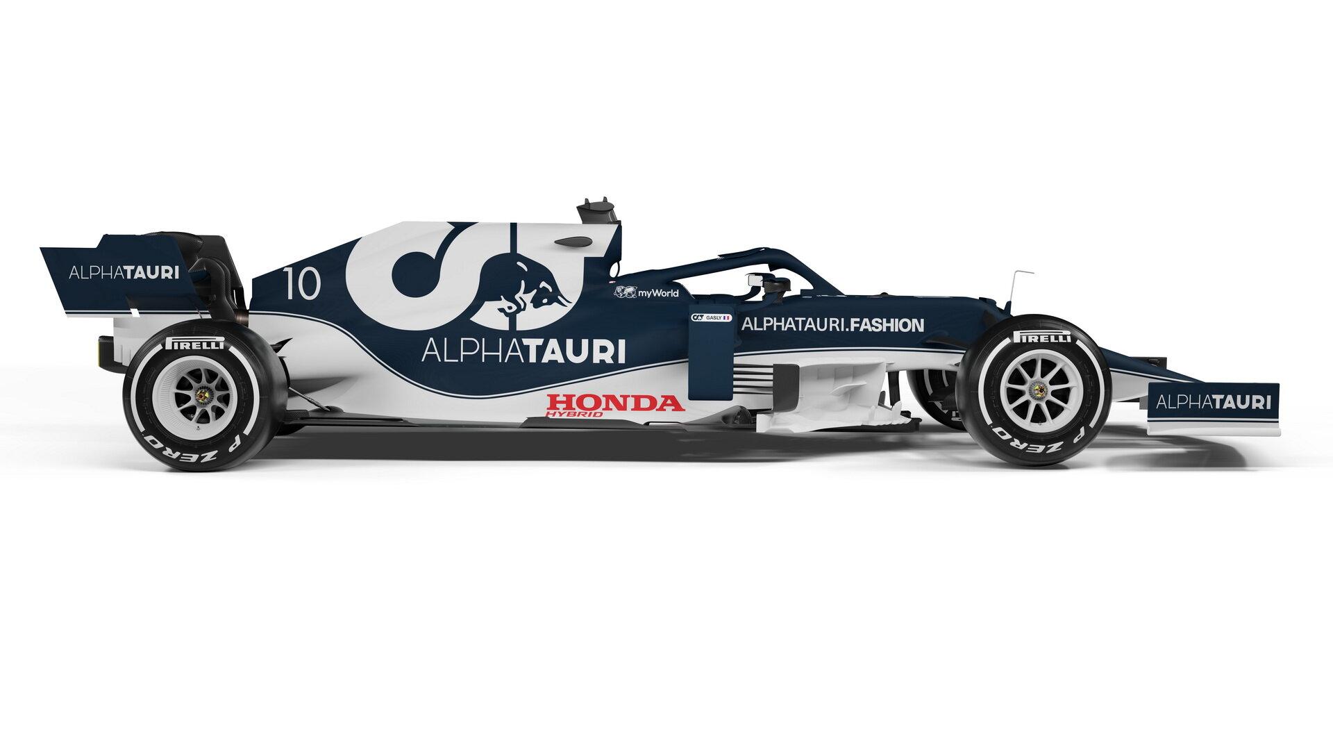 AlphaTauri AT02 - Honda