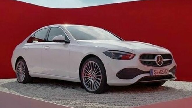 Mercedes benz C W206
