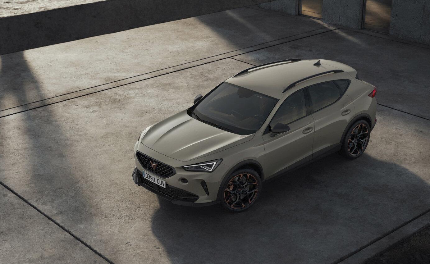 U příležitosti 3. výročí značky Cupra byl oficiálně představen limitovaný model Formentor VZ5