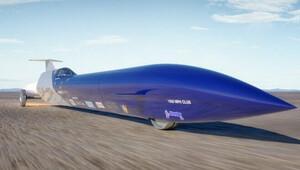 Australané si brousí zuby na světový rychlostní rekord. Jejich cílem je 1000 MPH (1609 km/h) - anotační obrázek